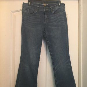 LUCKY BRAND A29 Blue Ankle Jeans Size 8/29 (28x29)